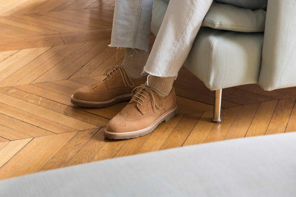V2 Camel 1 1024x683 - Semelles Lactae Hevea et chaussures non doublées : 7 nouveautés
