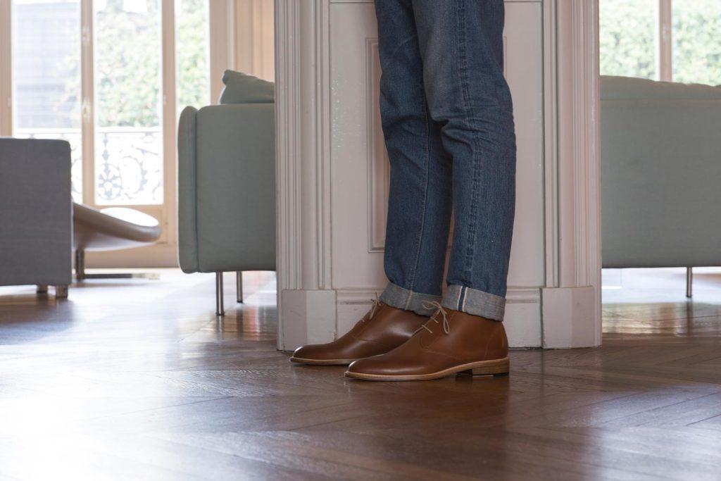 chukka fauve 2 1024x683 - Semelles Lactae Hevea et chaussures non doublées : 7 nouveautés