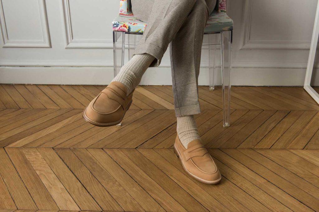 loafer camel 1024x683 - Semelles Lactae Hevea et chaussures non doublées : 7 nouveautés
