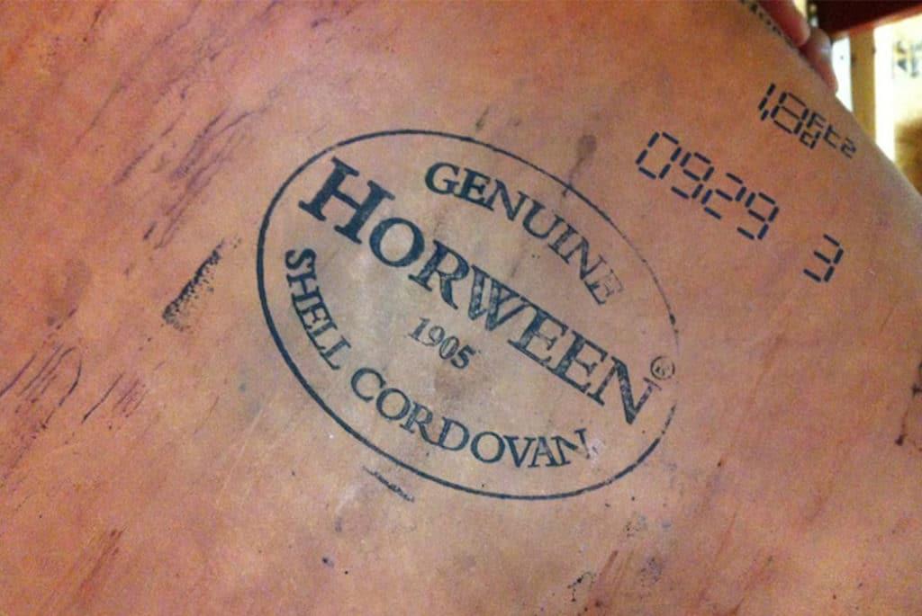 Horween shell cordovan 1024x685 - Guide complet sur le cuir Chromexcel de la tannerie Horween