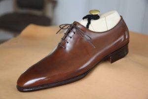 chaussure cuir homme one cut whole cut