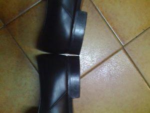 verification talon chaussures